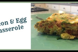 Recipe #4: Bacon and Egg Casserole