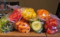 snacks in baggies