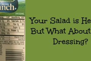 Wellness Wednesday #19: A Better Salad Dressing