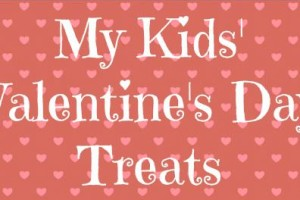 Valentine's Treats for My Boys