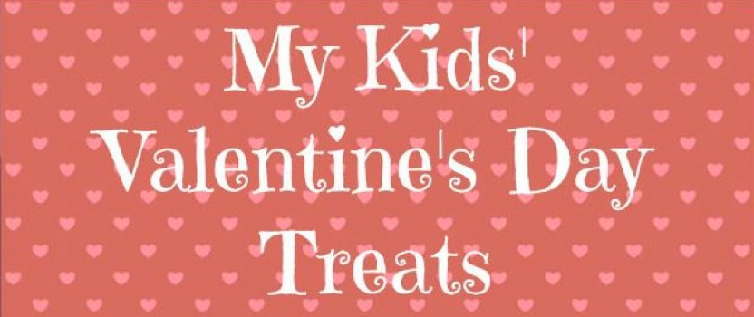 Valentine's Treats for My Boys