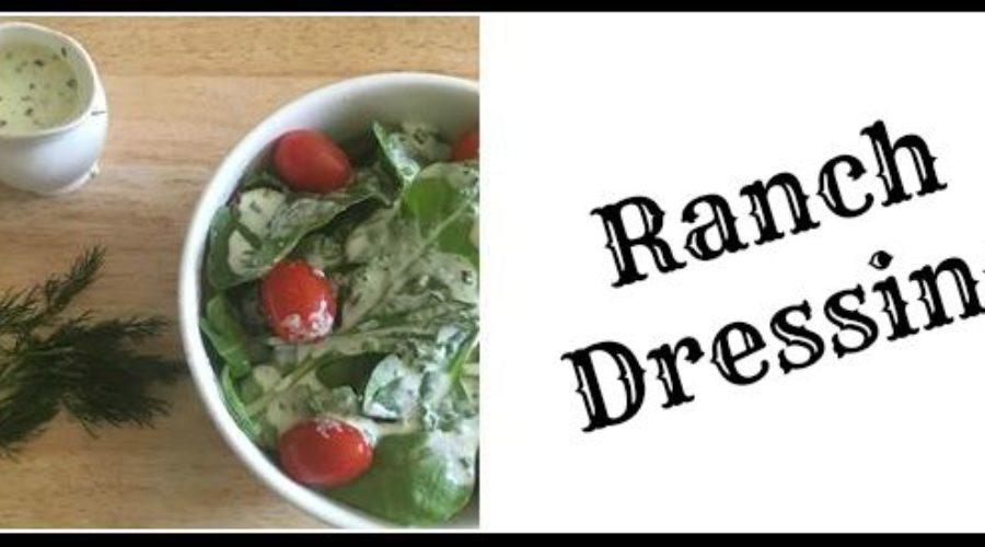Recipe #17: Paleo Ranch Dressing